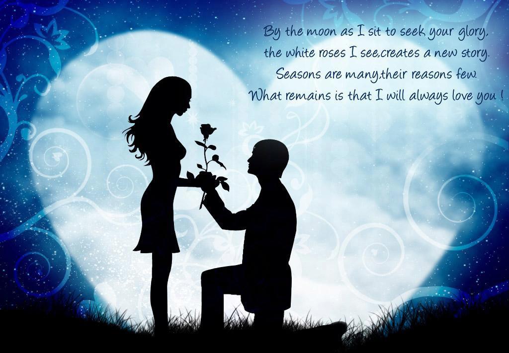 """symbolické - Modrý """"mesiac"""", láska, úloha kvetov"""