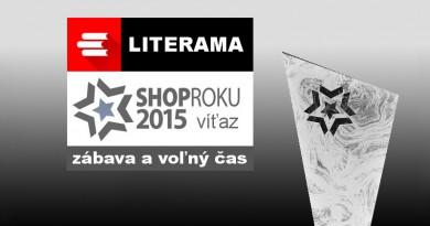 Literama.sk je ShopRoku 2015
