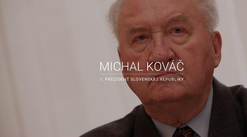 Michal Kováč: Pamäti